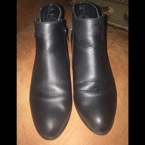 Union Bay Black Booties size 7.5